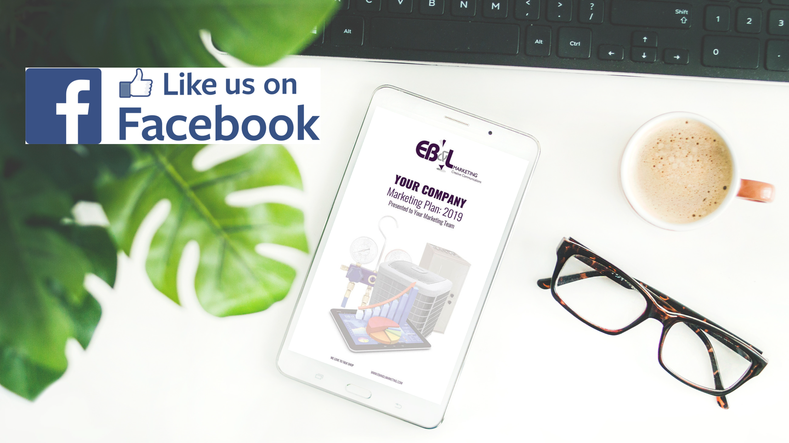 Facebook Contest Like EB&L Marketing page